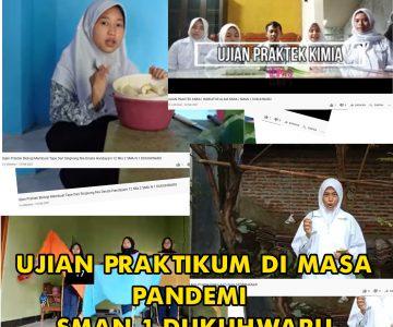 Ujian Praktik Online SMAN 1 Dukuhwaru